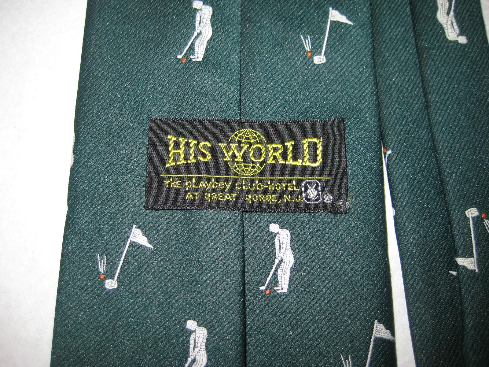 Playboy Club Great Gorge Golf Tie