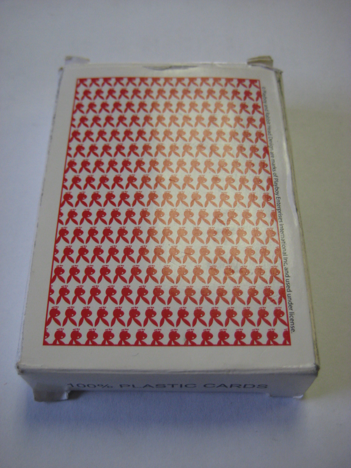 Playboy Plastic playing cards