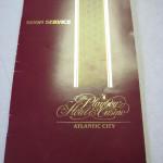 Playboy Atlantic City Room Service Menu