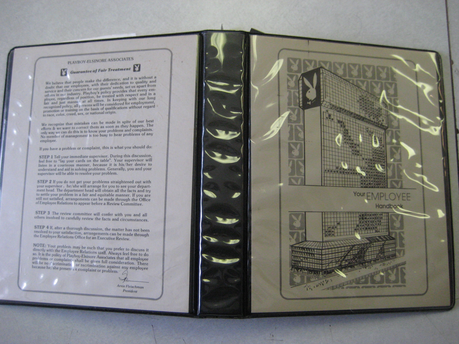 Playboy Atlantic City Employee Handbook