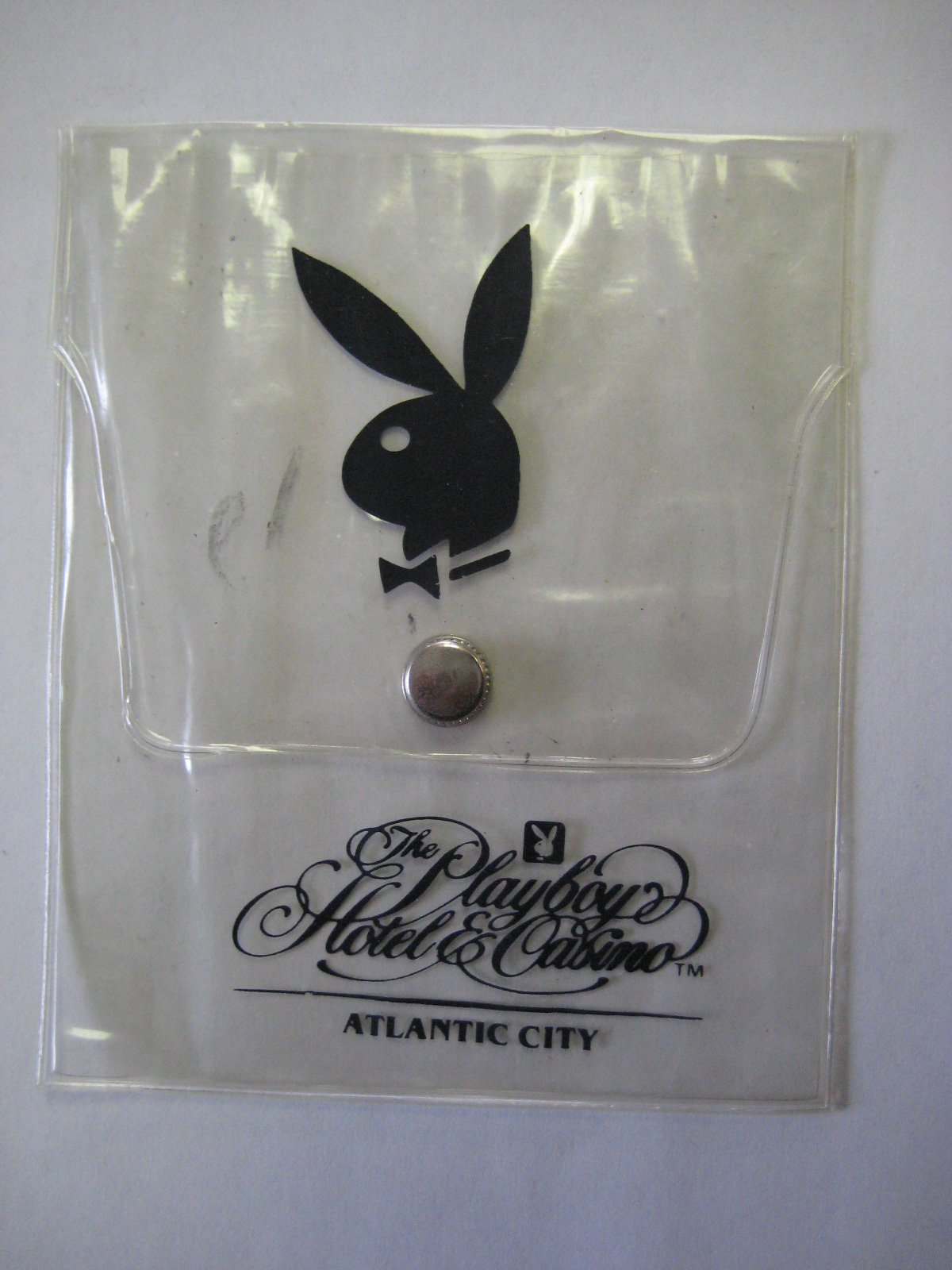 Playboy Hotel and Casino Atlantic CityClear Pouch