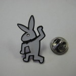 Keith Haring Playboy Bunny Pin
