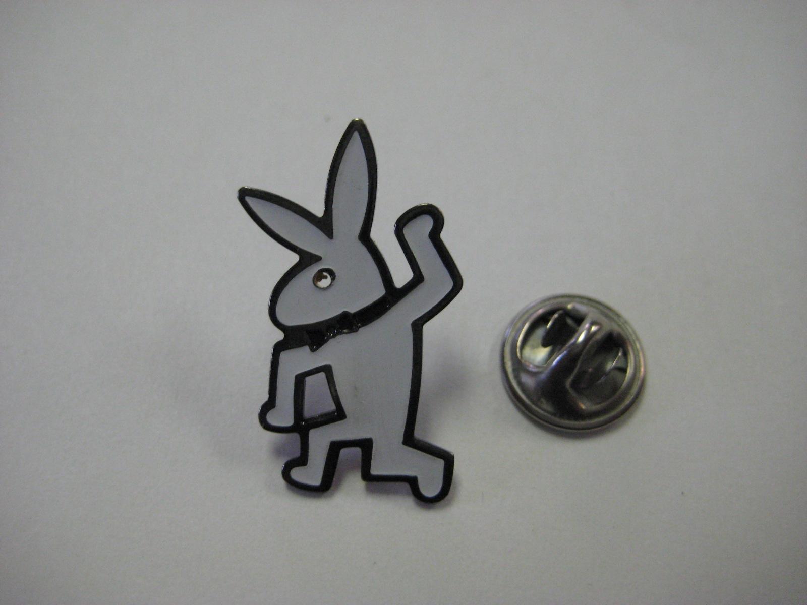 Keith Haring Playboy Bunny Pin