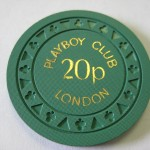 1973 20 Pence Triclub London Playboy Club