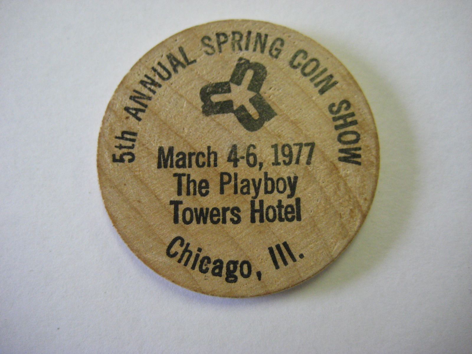 Playboy Towers Wooden Nickel