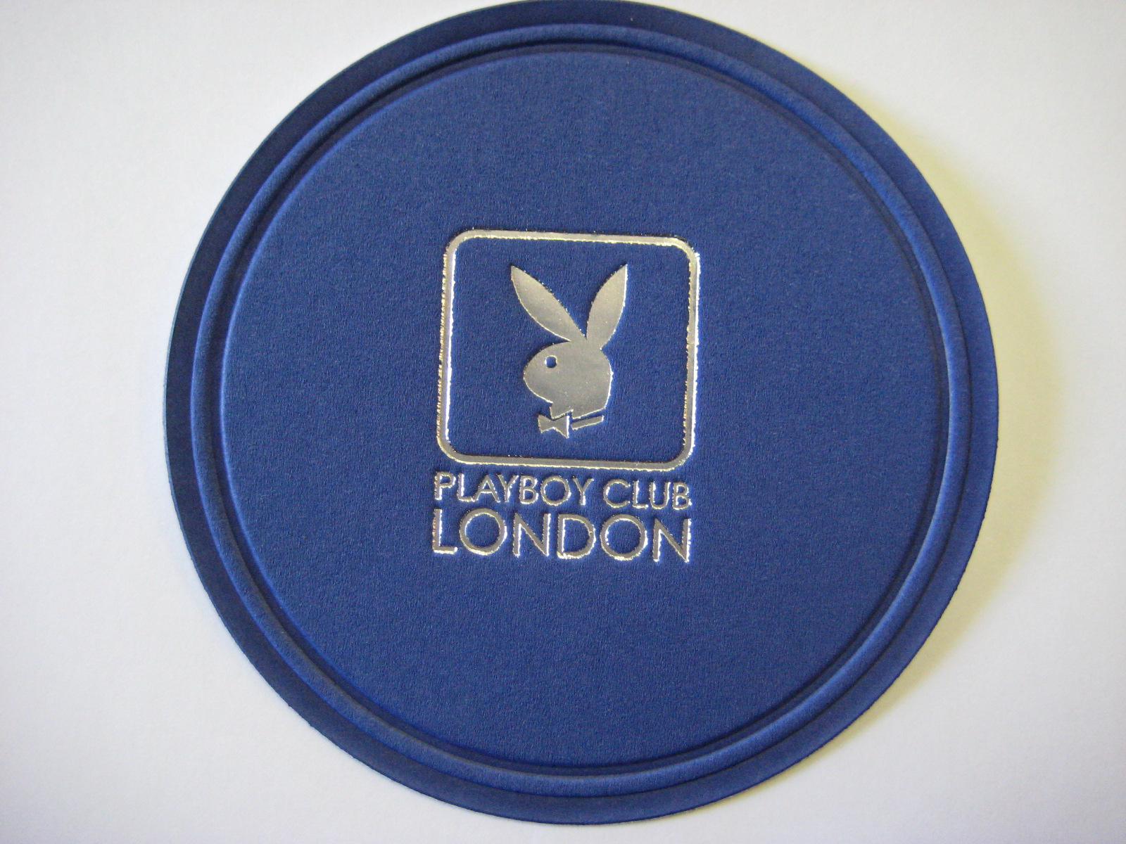 Playboy London Blue Coaster