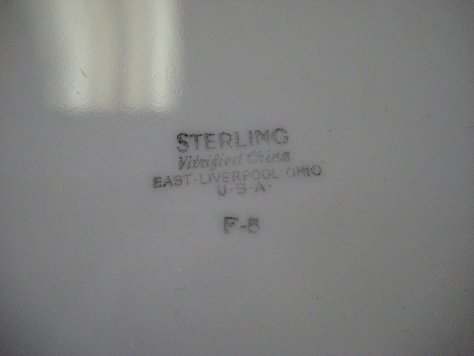 Playboy Club Sterling F-8 Plate