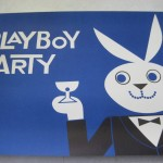 Playboy Party Place mat Blue