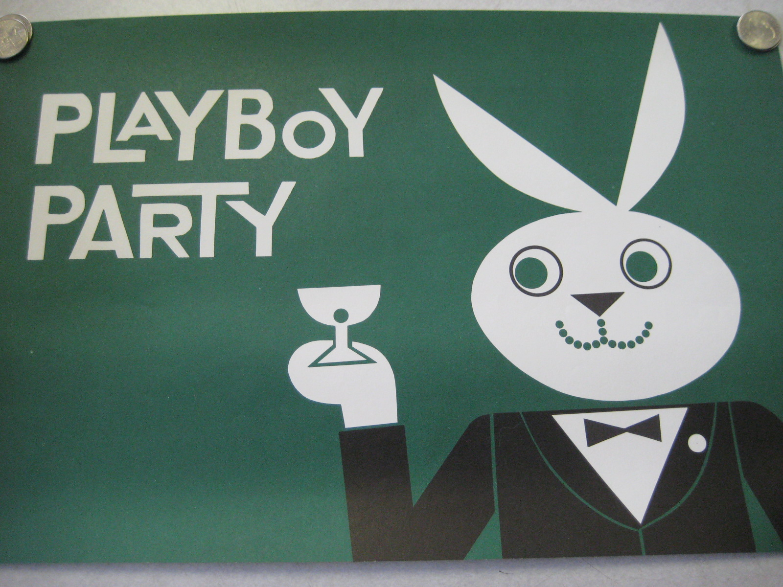 Playboy Party Place mat Green