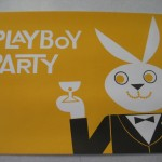 Playboy Party Place mat Yellow