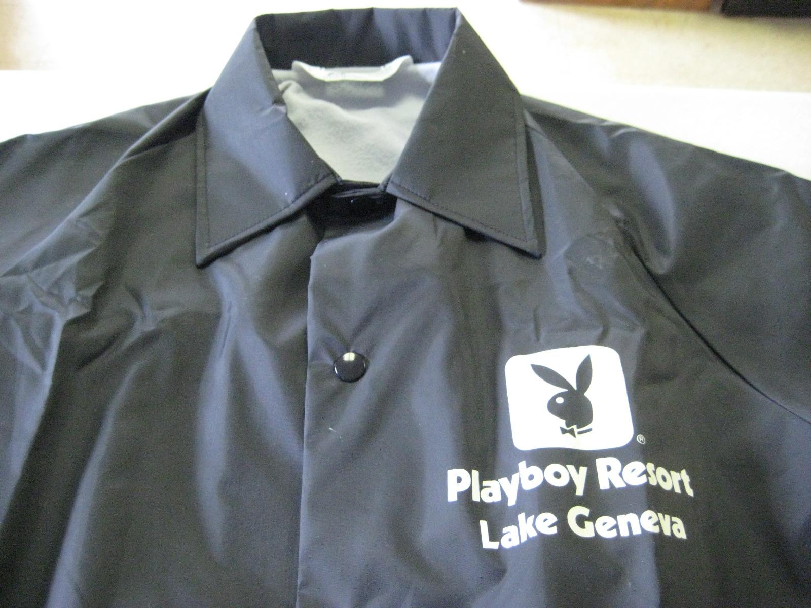 Playboy Club Lake Geneva Windbreaker