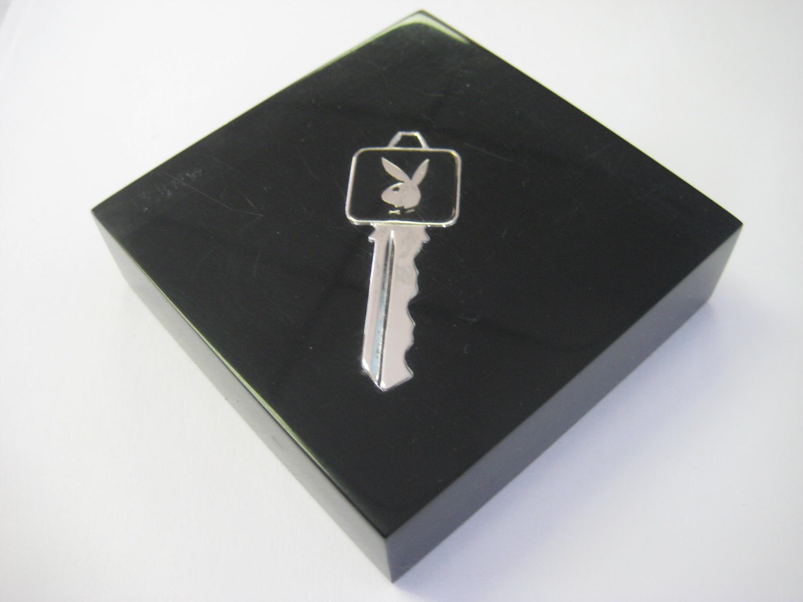 Playboy Club Key Paper Weight