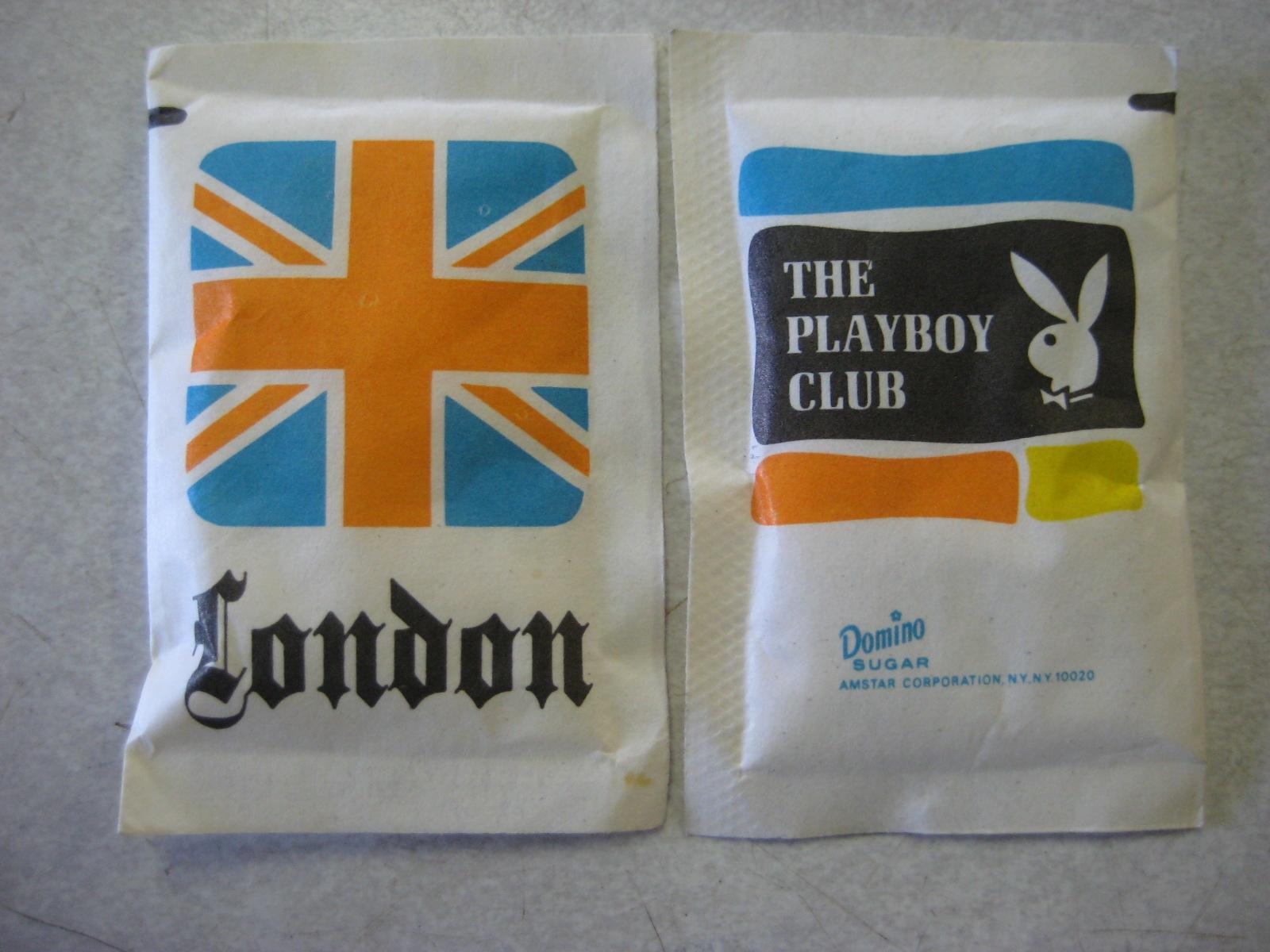 Playboy Club London Sugar Packet