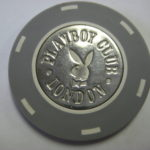 1981 50 Pence Chip Playboy Club Casino London Ben Jones