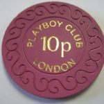 1977 London Playboy Club Casino 10 Pence Chip
