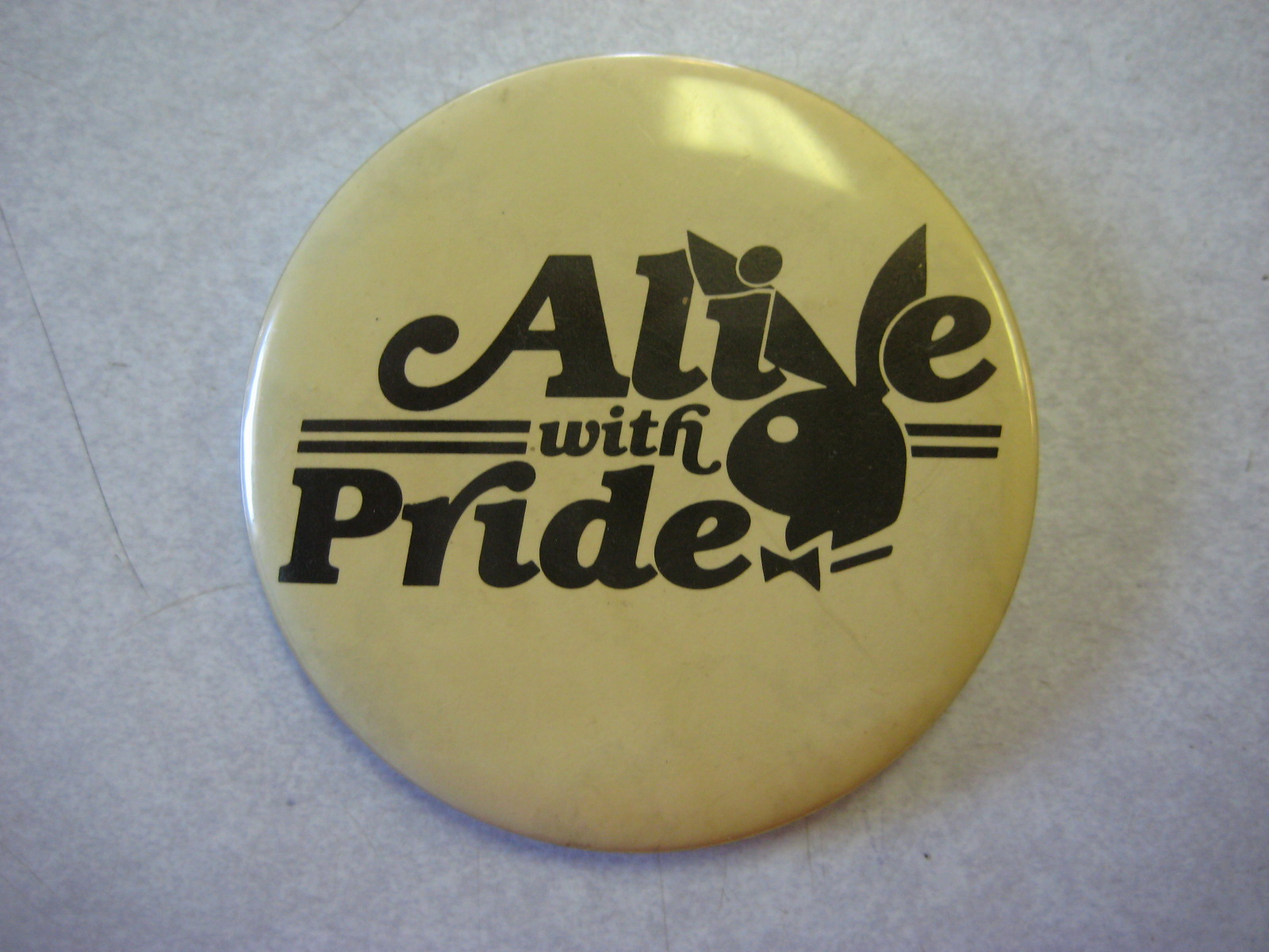 Alive with pride pin
