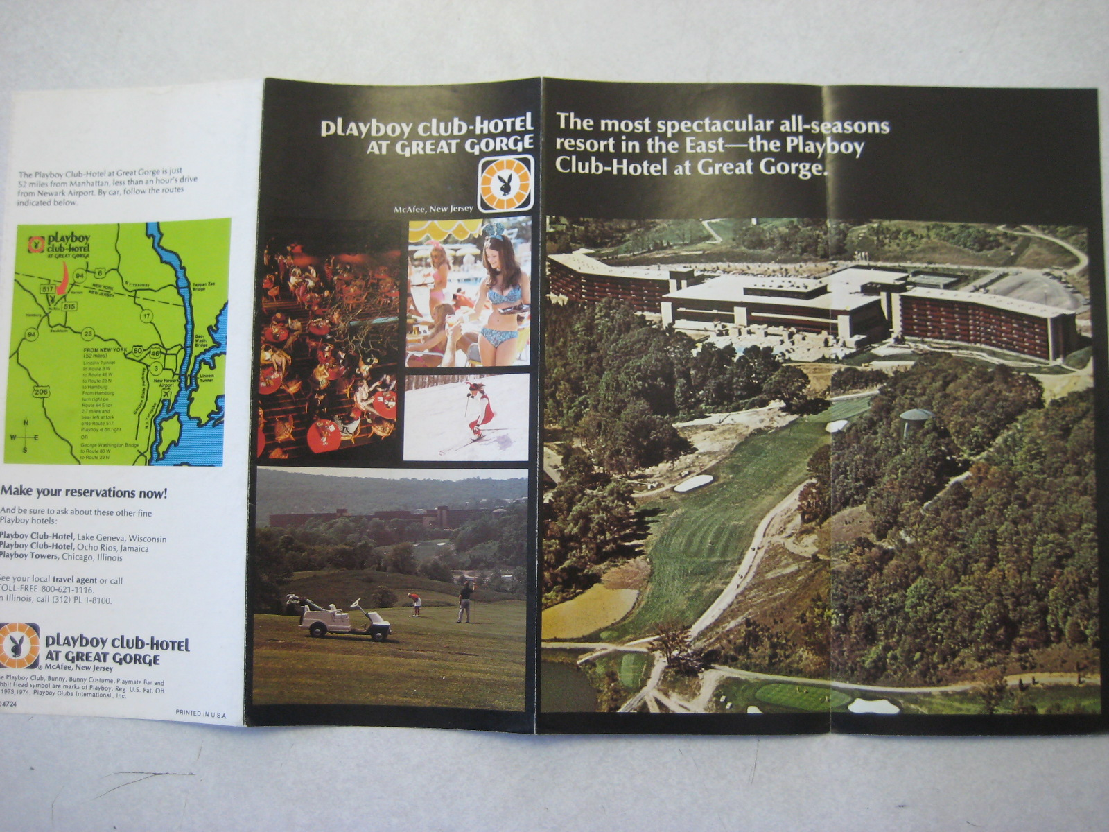 Great Gorge Playboy brochure