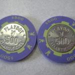 Atlantic City Playboy Club Hotel Casino Chip 500