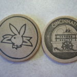 Playboy Cincinnati wooden nickel