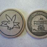 Playboy Cincinnati wooden nickel