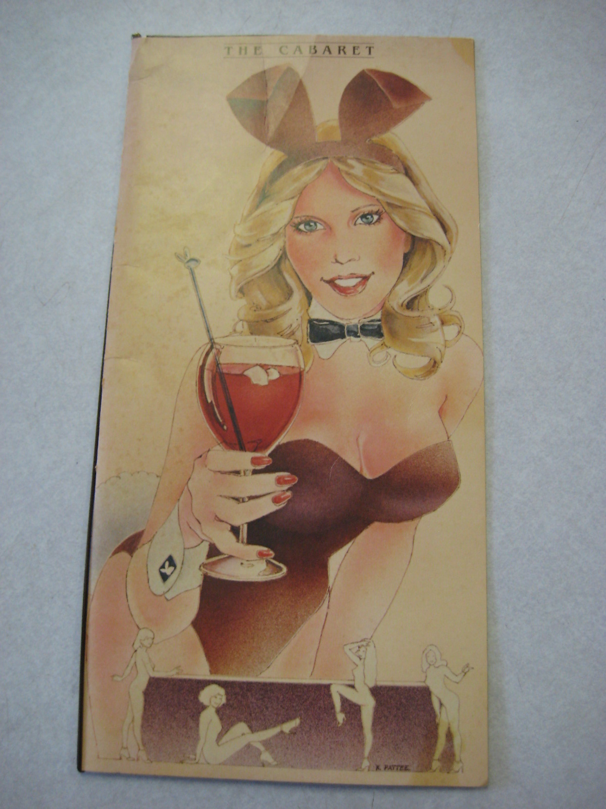 Lake Geneva Playboy Club Cabaret Menu