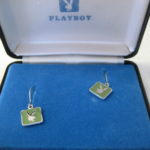 Playboy Green Earrings