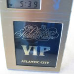 Playboy Atlantic City alarm clock