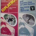 Playboy Club Lake Geneva Brochures