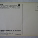 The Vip Room 1976 Lake Geneva Postcard