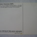 playboy's bounteous buffet Postcard Lake Geneva
