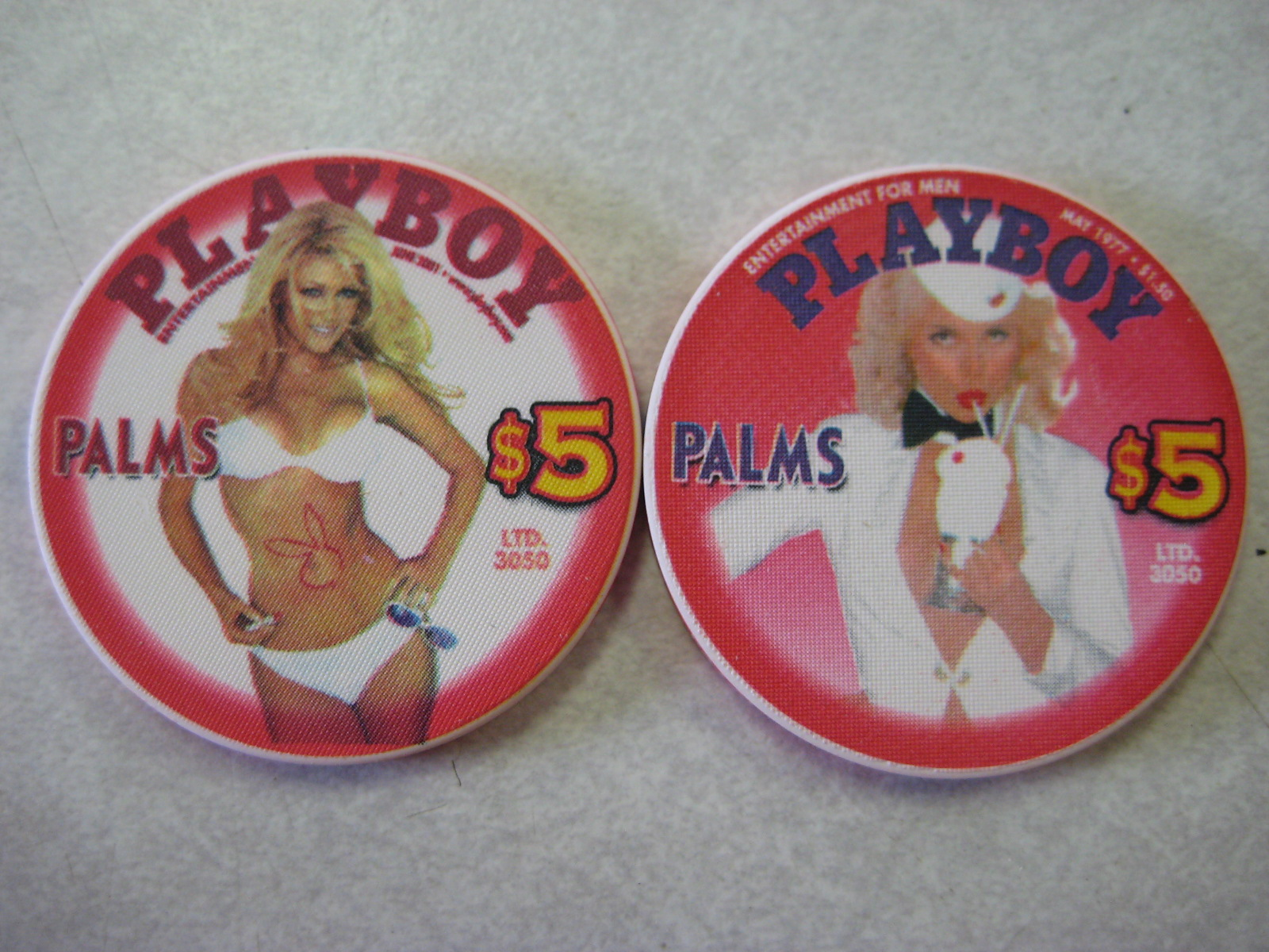Playboy Covers $5 Chips 1977 2001