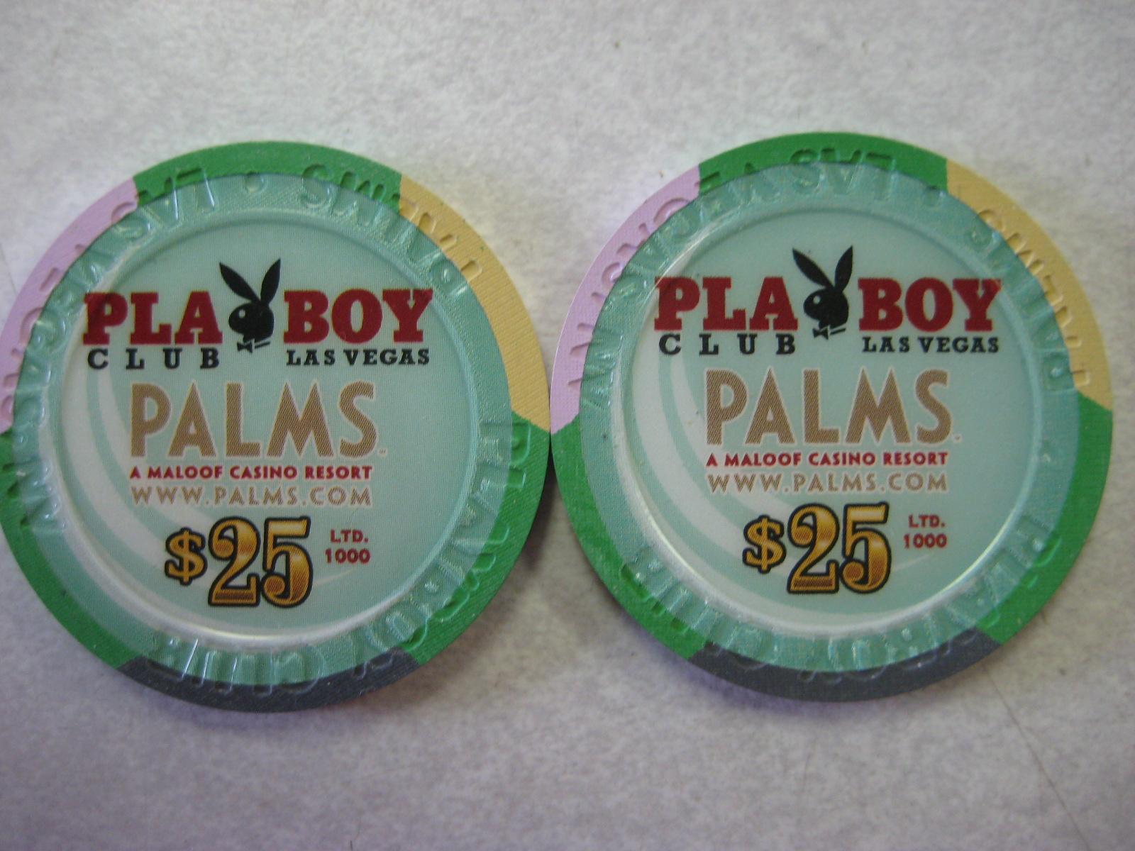 PMOY 2001 2002 $25 Chips Palms Playboy Club