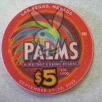 Jenny McCarthy $5 Chip 2002