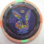 Playboy 4th Anniversary $10 chip