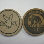 Plaboy Club New York City wooden Nickel