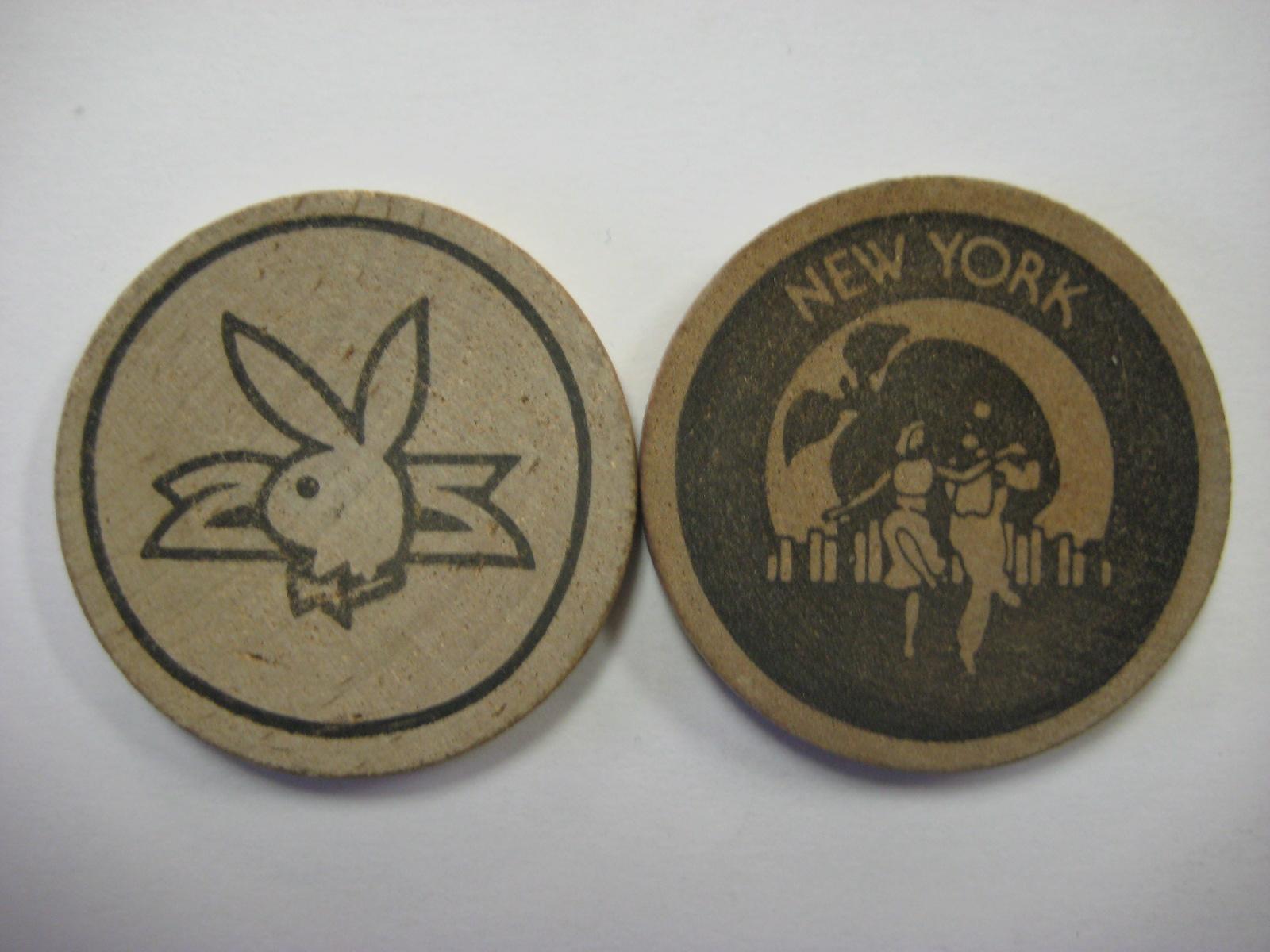 Plaboy Club New York City wooden Nickel