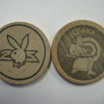 Plaboy Club Osaka wooden Nickel