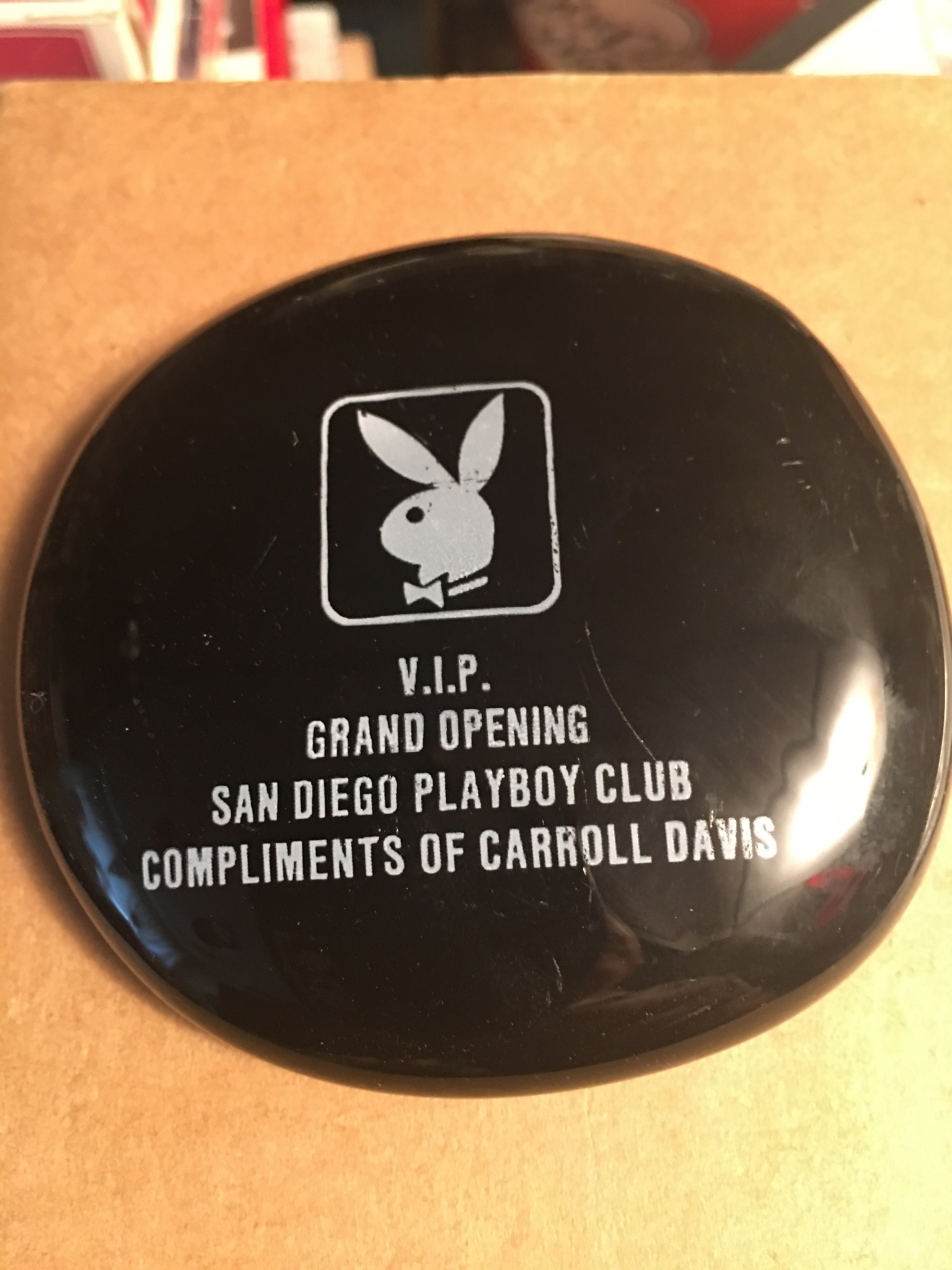 Playboy Club San Diego Paperweight