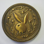 Playboy Brass Belt Buckle