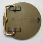 Playboy Brass Belt Buckle