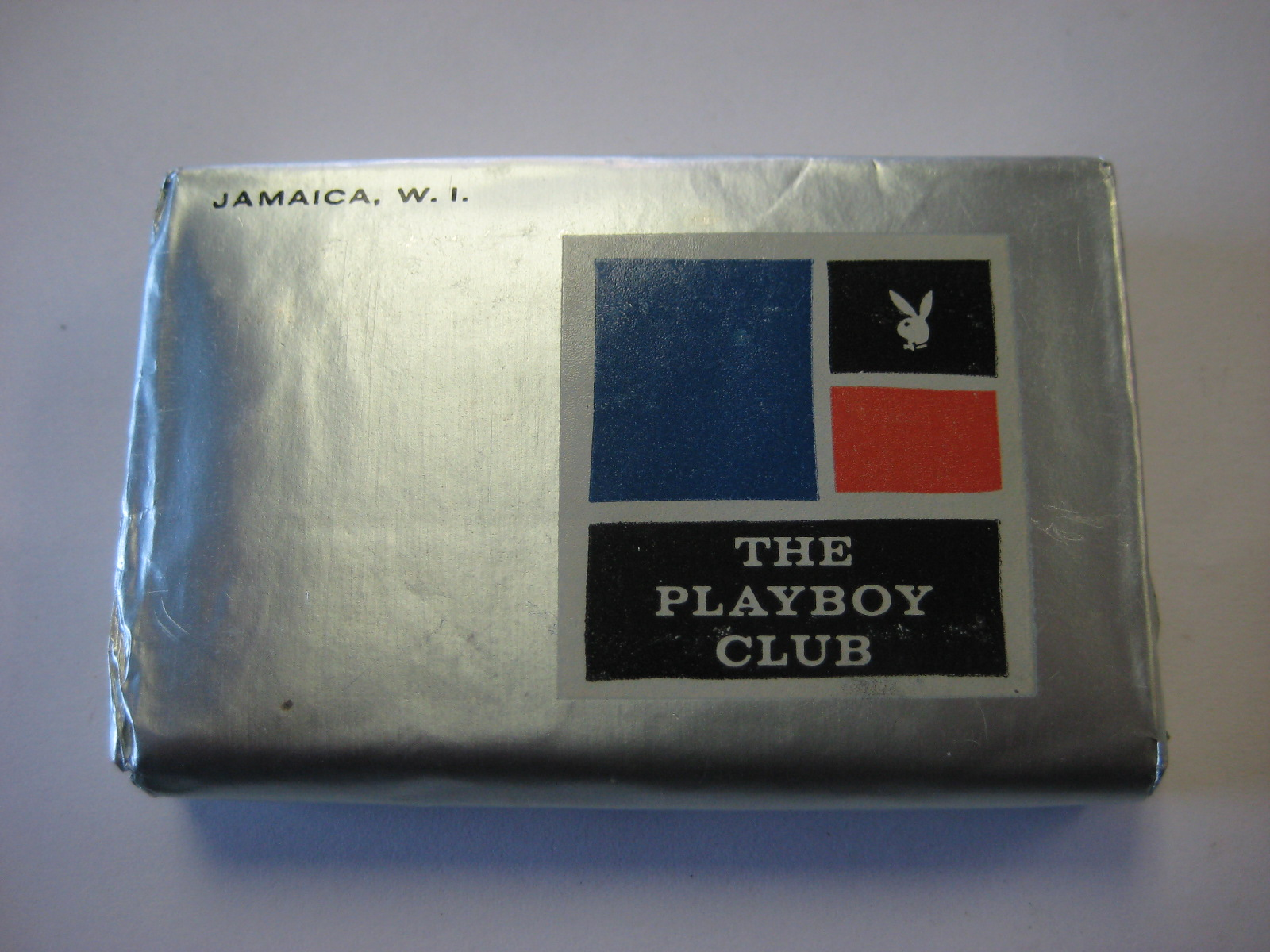 Playboy club resort Jamaica bar soap Palmolive