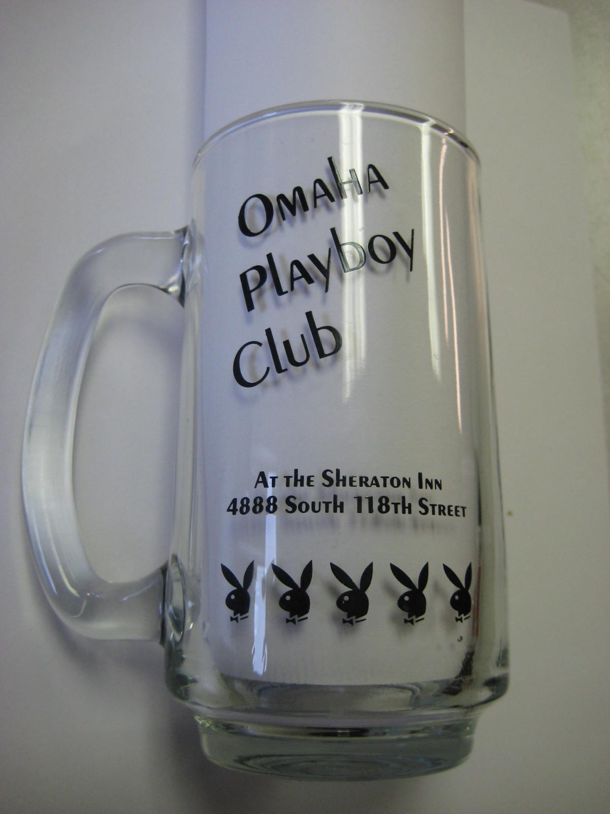 Omaha Playboy Club Clear Mug