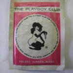 Playboy Club Pink Finger Bowl wet wipe