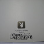 Playboy Club Lake Geneva 20th Anniversary Photo Folder