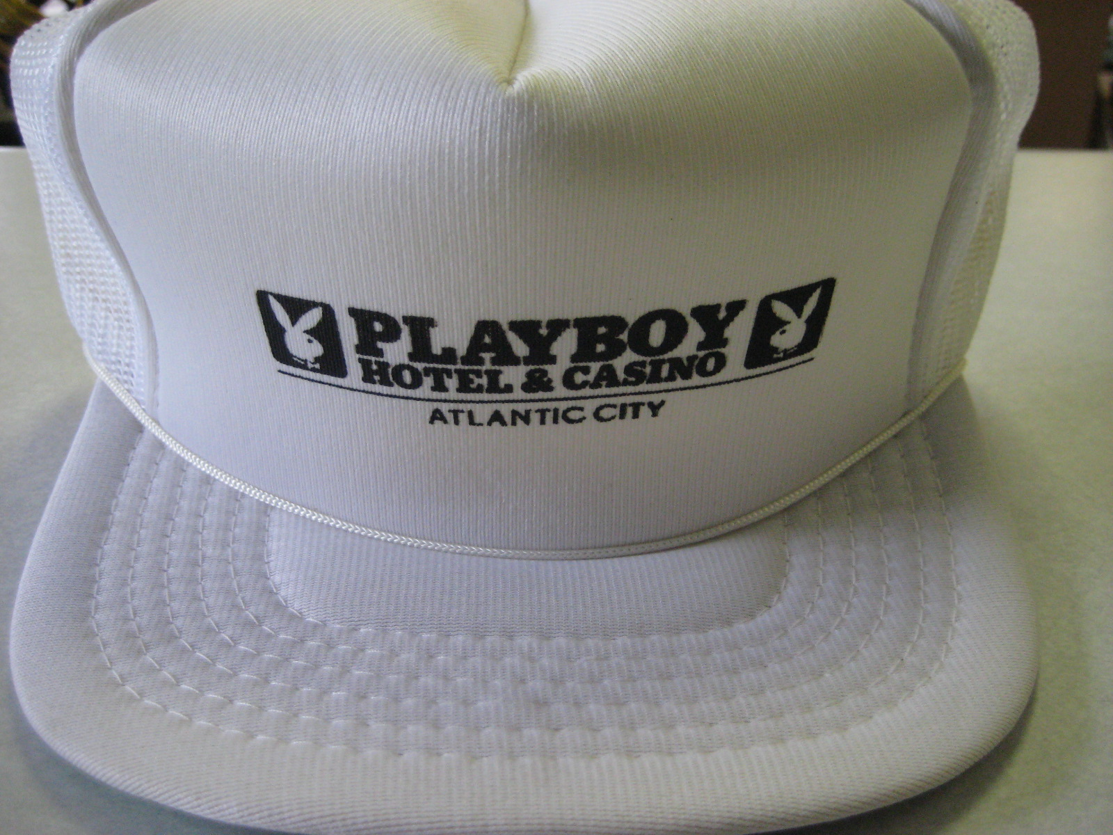 Playboy Club Atlantic City White Hat