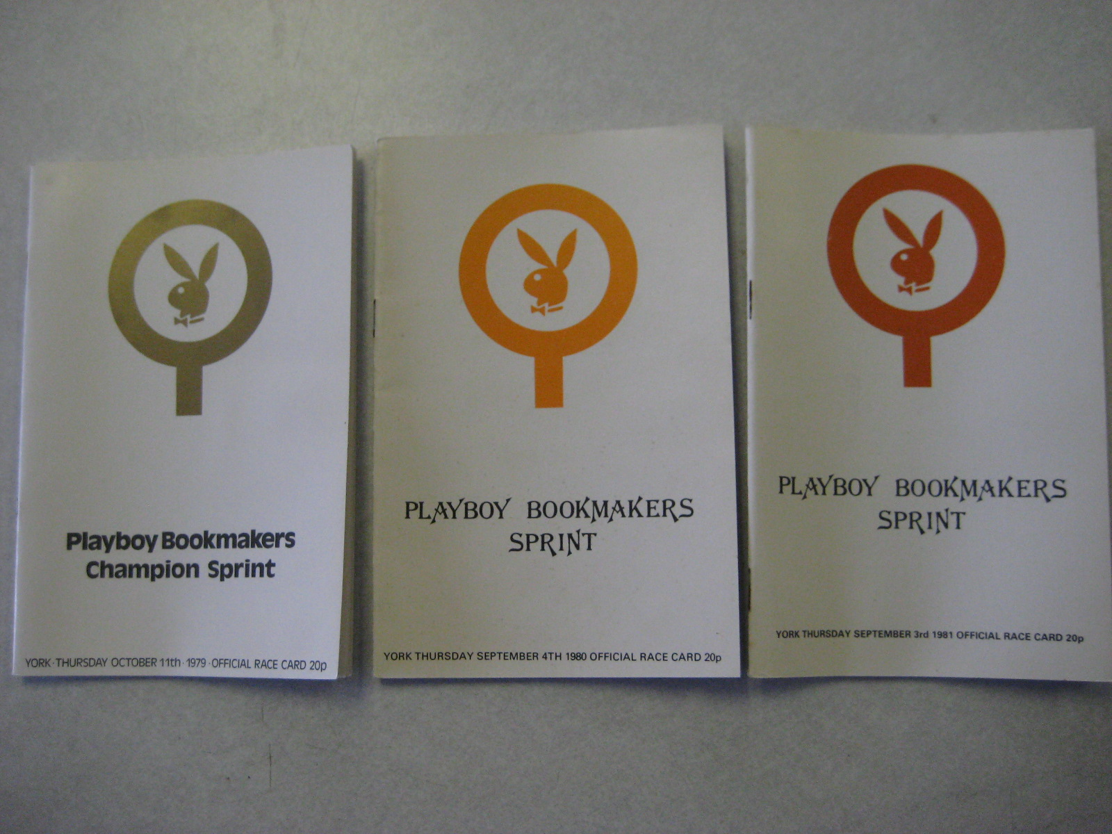 Playboy London Club Bookmakers 1979 1980 1981