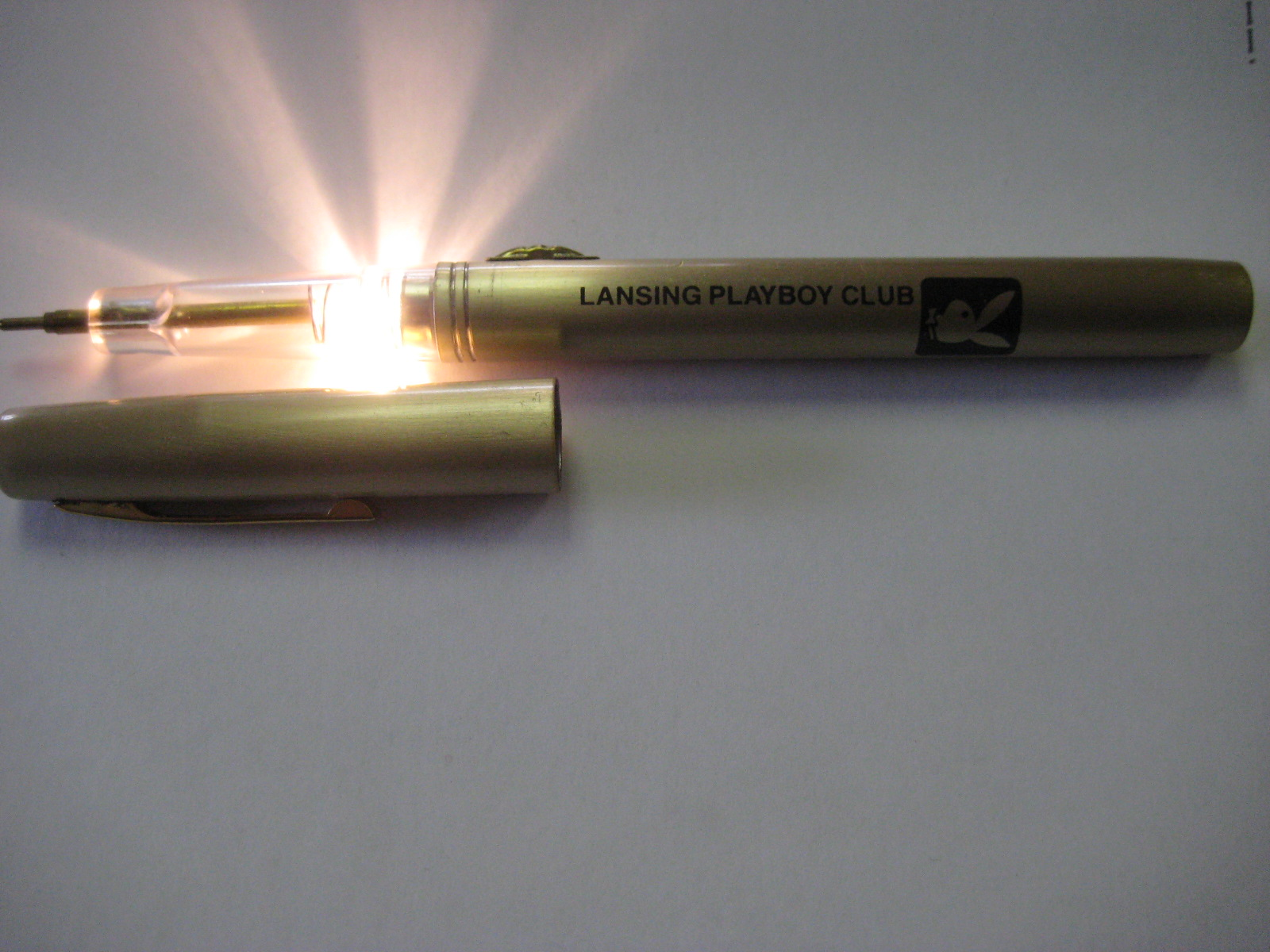 Lansing Playboy Club Flashlight Pen
