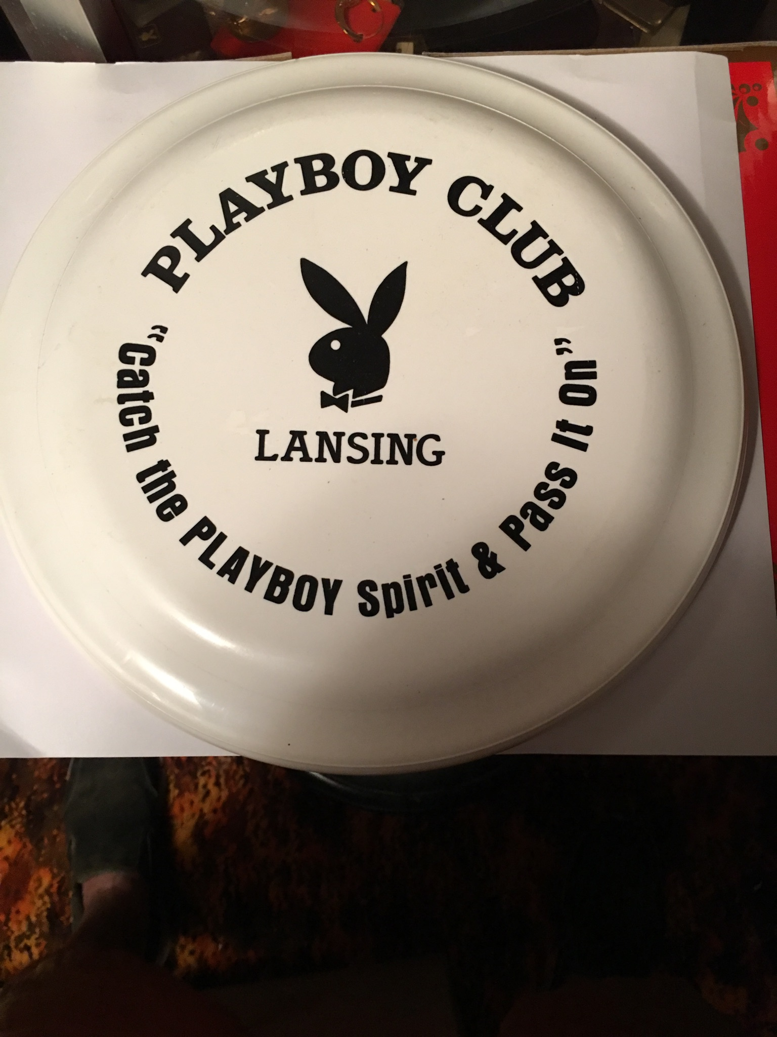 Lansing Playboy Club Frisbee