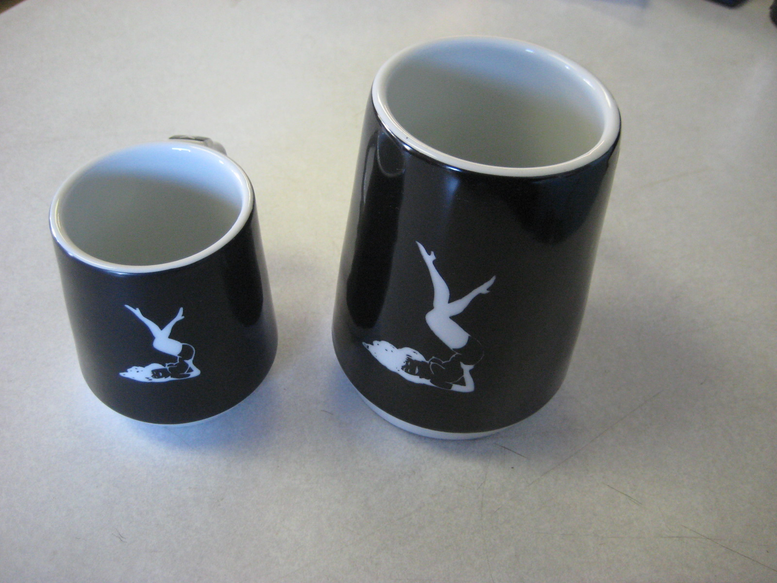 femlin Coffee and beer mugs