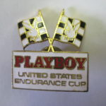 Playboy Endurance Cup Hat Pin 1985